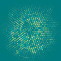 Fond de cercle abstrait vecteur