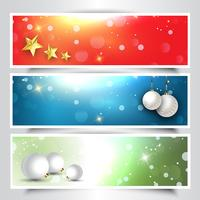 En-têtes de Noël décoratifs
