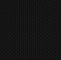 cercles noirs de modèle sans couture élégant avec des points d'or sur la texture de fond sombre vecteur