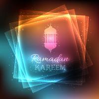 Fond décoratif pour le Ramadan vecteur