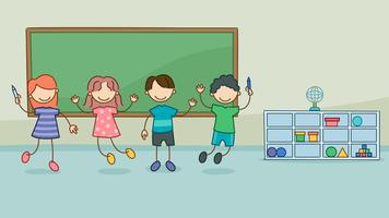 Classe unique avec des vecteurs enfants vecteur