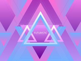 Fond abstrait futuriste vecteur