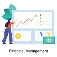 gestion financière dans le concept d & # 39; entreprise