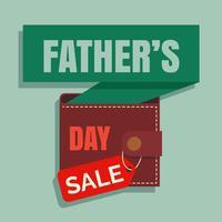 Fête des pères vente Illustration vectorielle