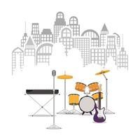 icônes d & # 39; instruments de musique