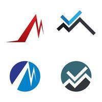 images de logo lettre m vecteur