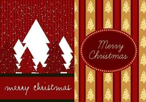 Pack de papier peint Red Christmas Illustrator vecteur