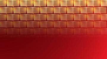 fond de brique dorée, illustration vectorielle vecteur