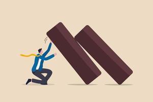 concept de résilience d'entreprise vecteur