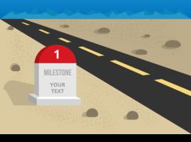 Illustration vectorielle gratuite de Milestone vecteur
