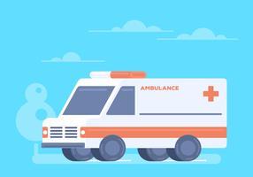 Vecteur d'ambulance