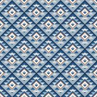 motif carré bleu géométrique sans soudure avec ombre