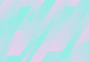 Abstrait motif de rayures géométriques diagonales bleues et roses avec texture à pois vecteur