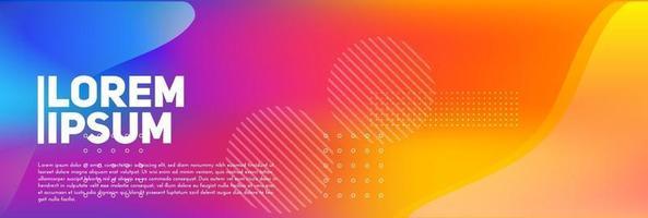 beaux dégradés colorés abstraits avec mouvement. c'est un arrière-plan flou léger et coloré. vecteur