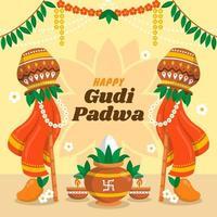 la joyeuse occasion du festival gudi padwa
