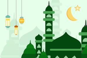 fond eid mubarak vecteur