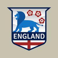 Badge de football de coupe du monde de l'Angleterre