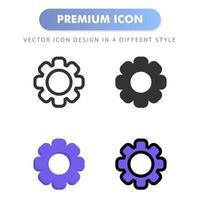 icône de réglage pour la conception de votre site Web, logo, application, interface utilisateur. illustration graphique vectorielle et trait modifiable. conception d'icône eps 10. vecteur