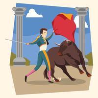 illustration de bull