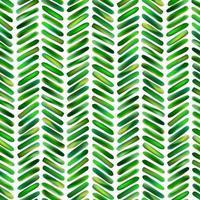 modèle sans couture abstrait de formes géométriques en vert clair. branches de plantes florales stylisées dans un style tropical. coups de pinceau d'ornement de feuilles naturelles vecteur