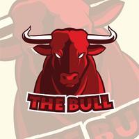 illustration de bull vecteur
