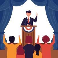 concept de jour de l'élection présidentielle aux états-unis