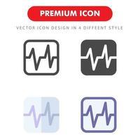 pack d'icônes de parler son isolé sur fond blanc. pour la conception de votre site Web, logo, application, interface utilisateur. illustration graphique vectorielle et trait modifiable. eps 10. vecteur