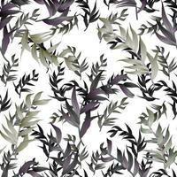 conception de modèle de répétition floral organique abstrait moderne vecteur