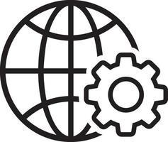 icône de ligne pour le web