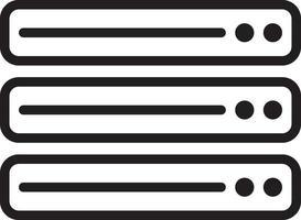 icône de ligne pour les données vecteur