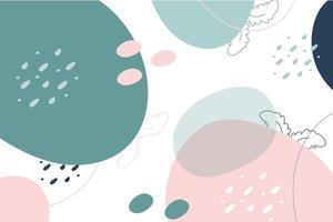 conception de fond pastel abstrait vecteur