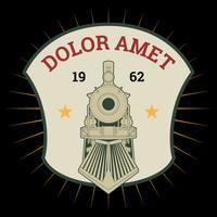 Vecteurs de locomotive exceptionnels