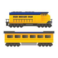 Vecteur de locomotive