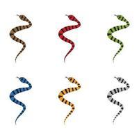 illustration d'images de logo de serpent