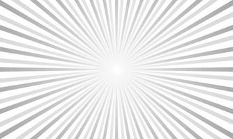 fond abstrait de rayons gris vecteur