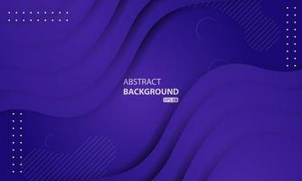 fond liquide abstrait avec une couleur dégradée violette. conception de fond texturé dynamique. eps 10 vecteur