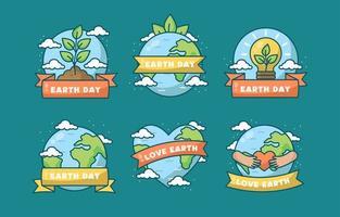 prendre soin de notre planète maison jour de la terre vecteur
