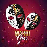 joyeux carnaval fond carnaval brésil événement concept vecteur