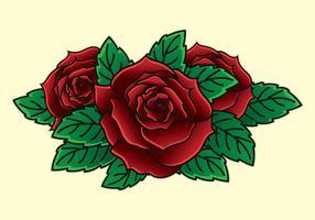 Nouvelle Illustartion de tatouage Skool vecteur