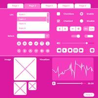 Vecteur d'éléments de kit d'interface filaire