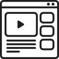 icône de ligne pour en ligne