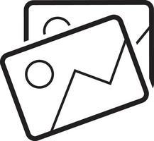 icône de la ligne pour l'image vecteur