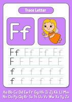 écrire des lettres f