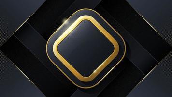 abstrait de luxe sous la forme de carré. vecteur