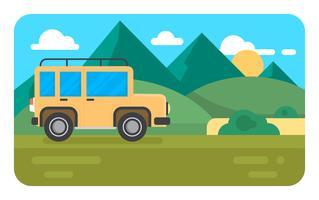 Voyage à la Nature vecteur