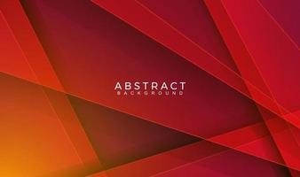 fond de couleur rouge géométrique abstrait moderne. mouvement, sport, lignes. affiche, papier peint, page de destination. illustration vectorielle vecteur