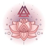 Vecteur de Lotus