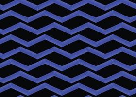 fond de texture de vecteur, modèle sans couture, zigzags bleus et noirs dessinés à la main.