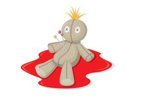 Illustration de poupée vaudou
