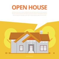 Illustration de liste immobilière. Maison à vendre illustration. vecteur